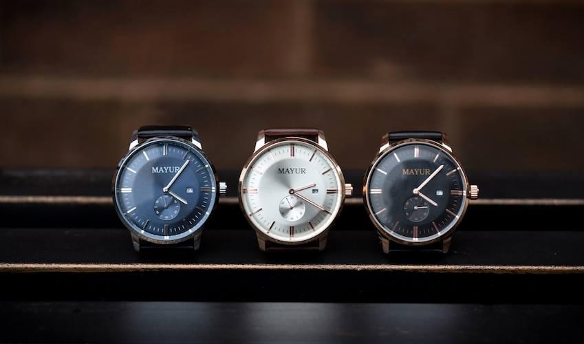 mayur watch styles
