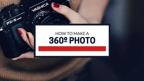 how to facebook 360 degree photo