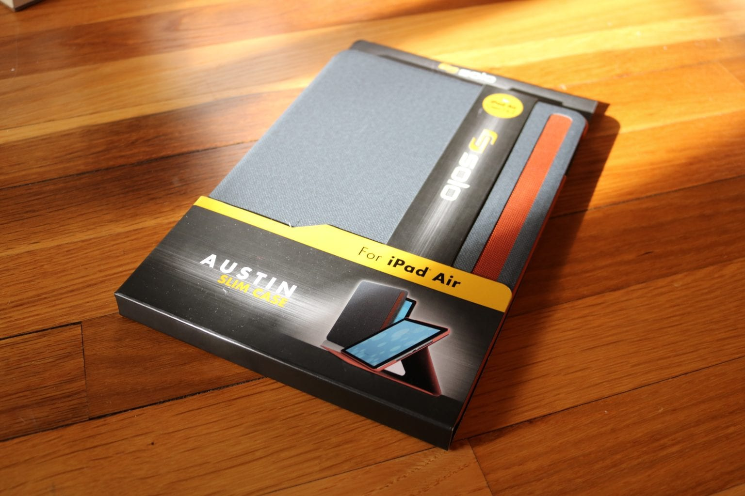 ipad air case austin slim by solo review