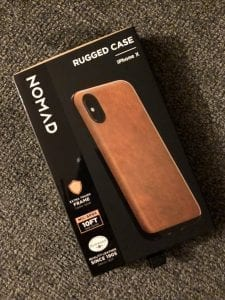 nomad goods iphone x phone case