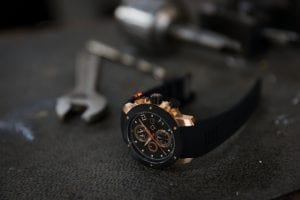 THE GX P51 SWISS AUTO CHRONOGRAPH PILOT'S WATCH